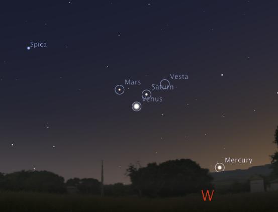 vesta | The Transient Sky - Comets, Asteroids, Meteors