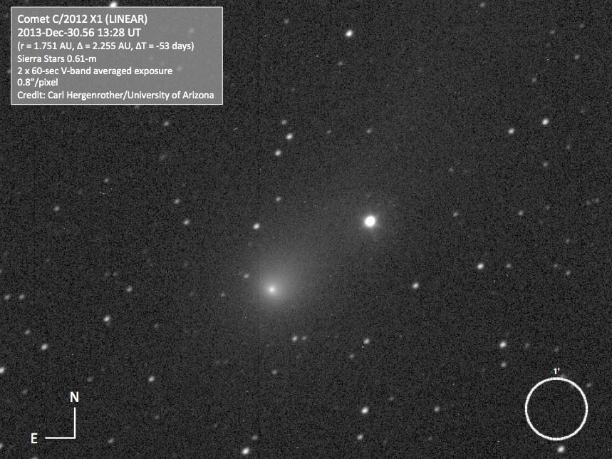 Comet C/2012 X1 (LINEAR)